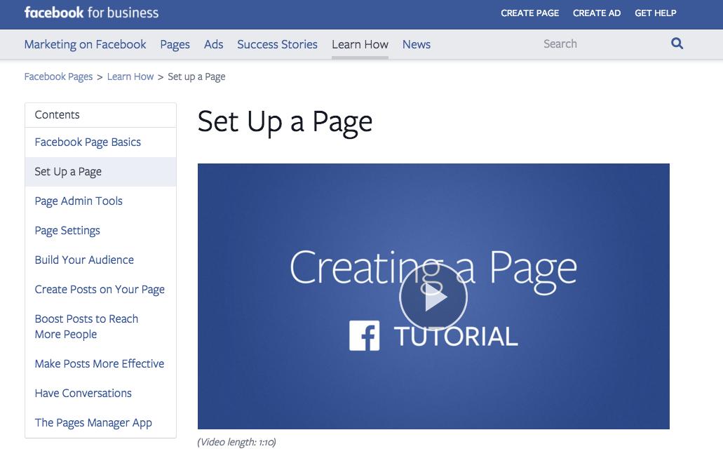Create a Facebook Store