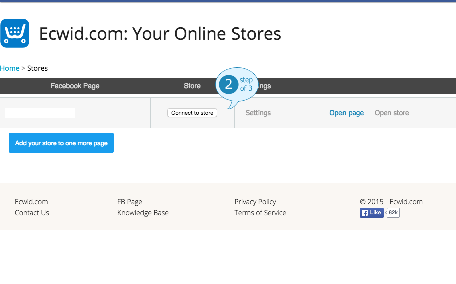 Your Online Facebook Store