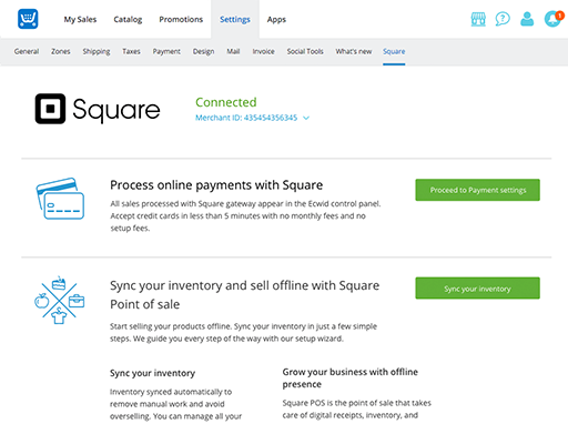 Square Online Store >> Square Online Store Sync With Your Square Pos System
