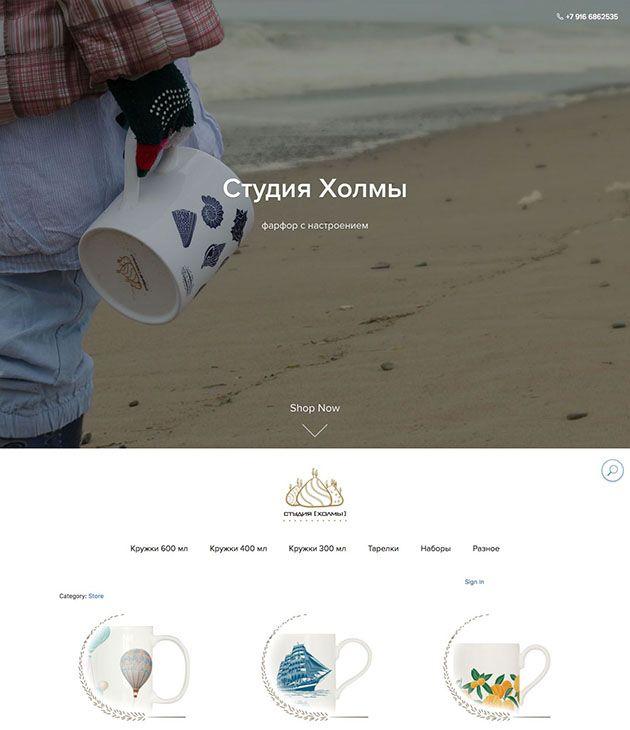 Студия Холмы – интернет-магазин на Эквиде