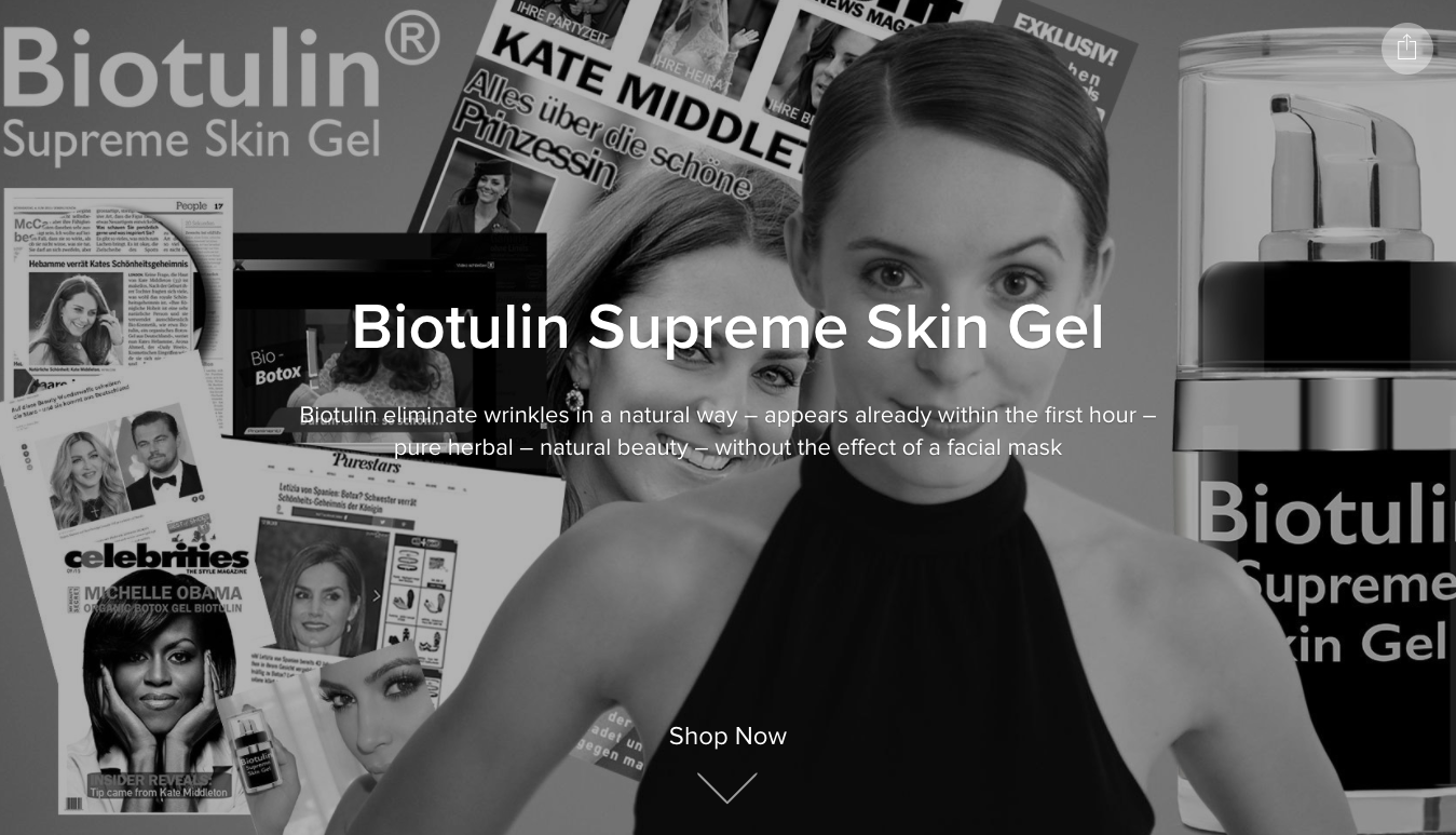 Biotulin Supreme Gel Huid