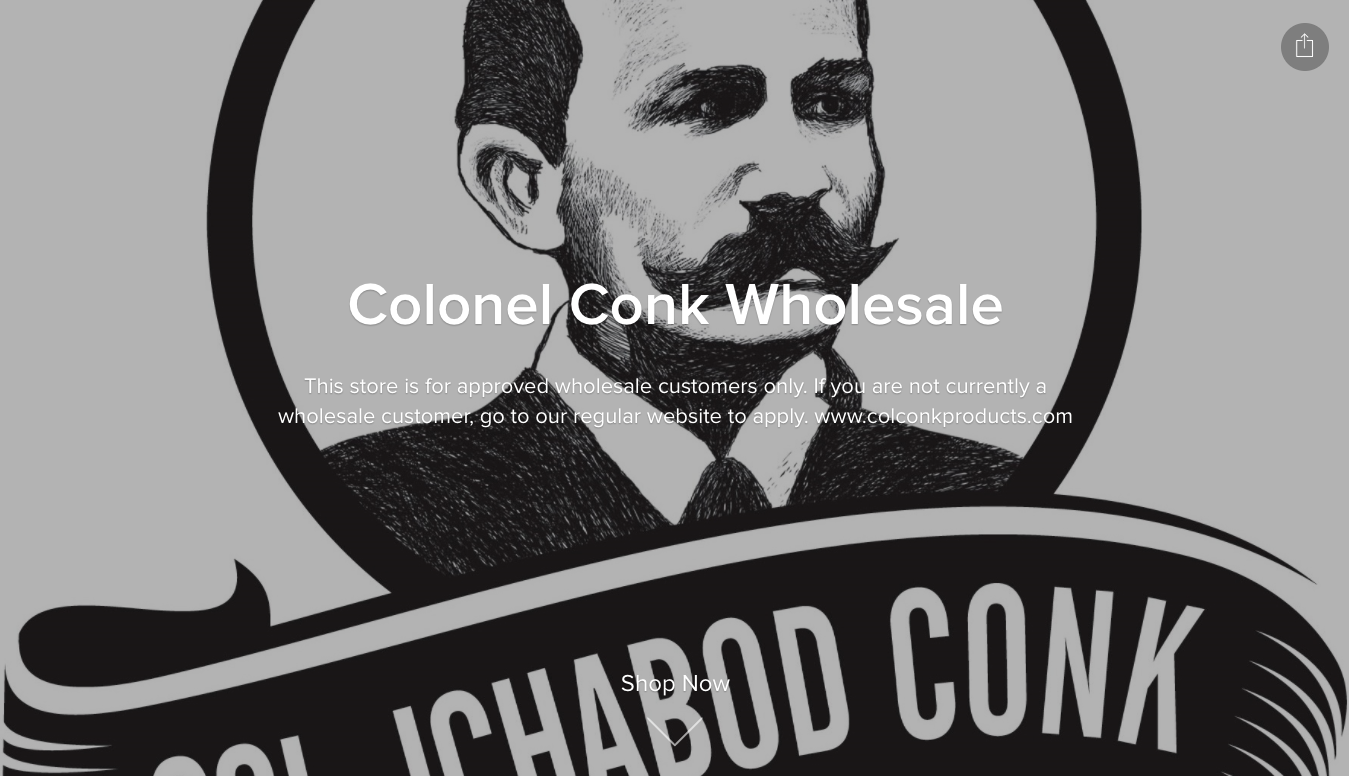 Colonel Conk Wholesale