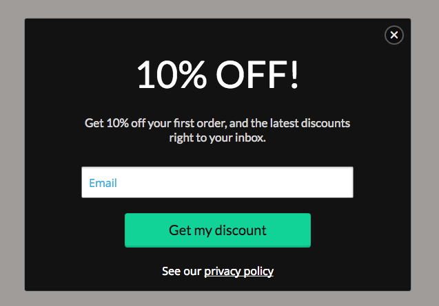 ecommerce privacy policy template