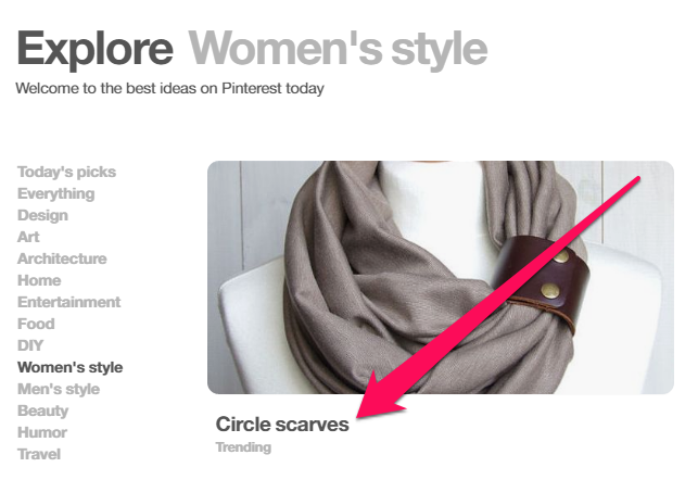 """Discover"" section on Pinterest helps e-commerce"