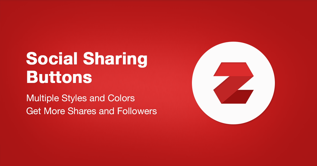 Social Sharing Buttons for Ecwid Stores