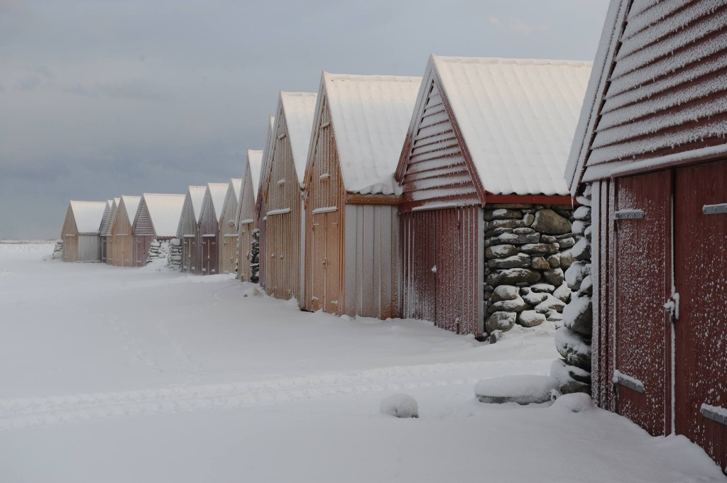Winter in Jæren. Foto von Torstein Aase
