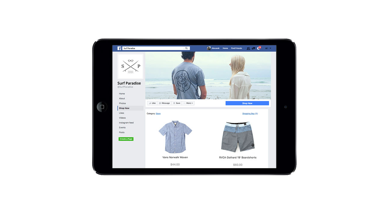 Win more buyers by adding Ecwid online store to your Facebook page
