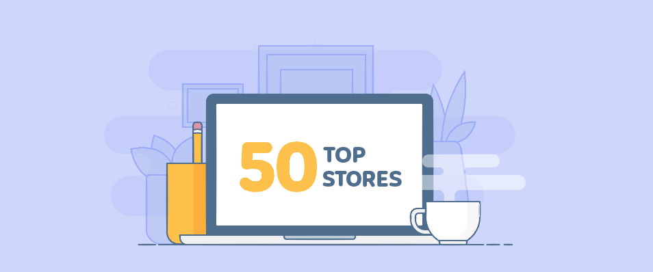 50 Exemplary Online Stores Built With Ecwid