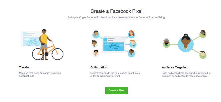 Création d'un pixel de FB