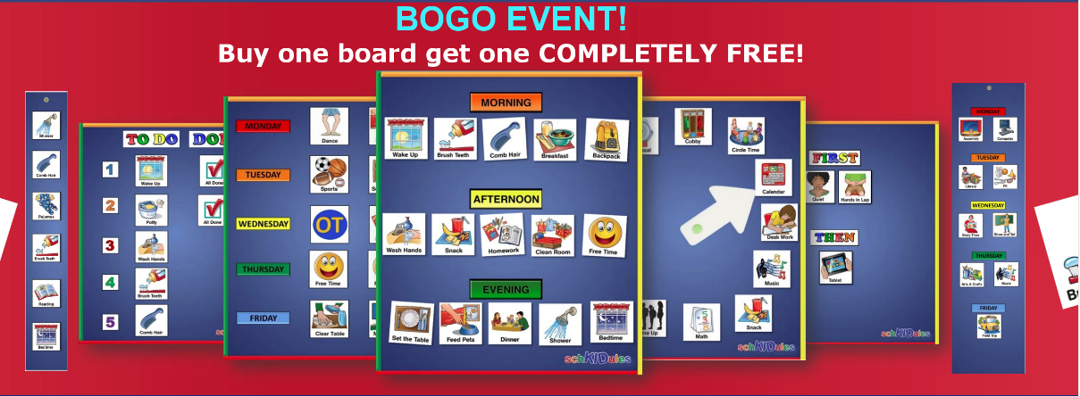 BOGO Event door ScKIDule