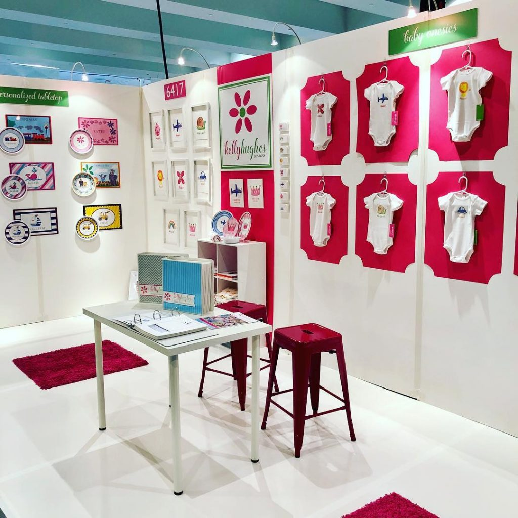 Kelly Hughes Designs at National Stationery Show