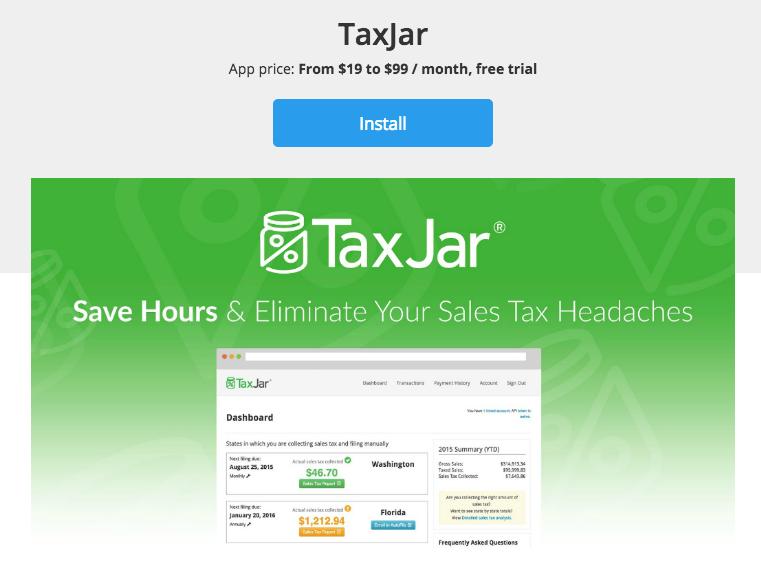 Get TaxJar