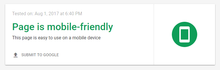 Mobile-Friendly Test by Google