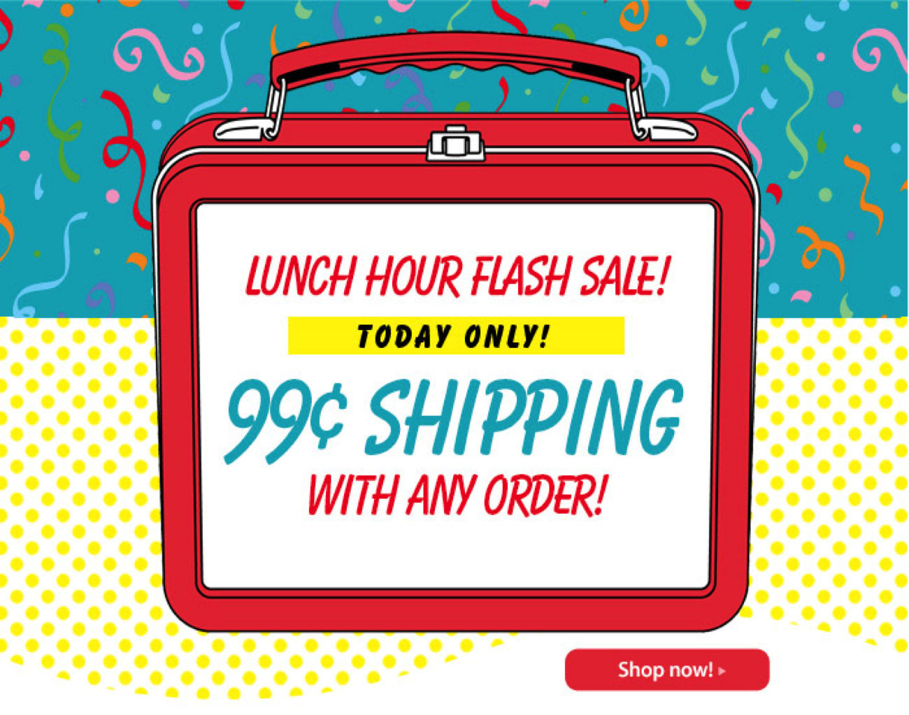 A flash sale in Current