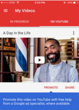 YouTube Director screenshot