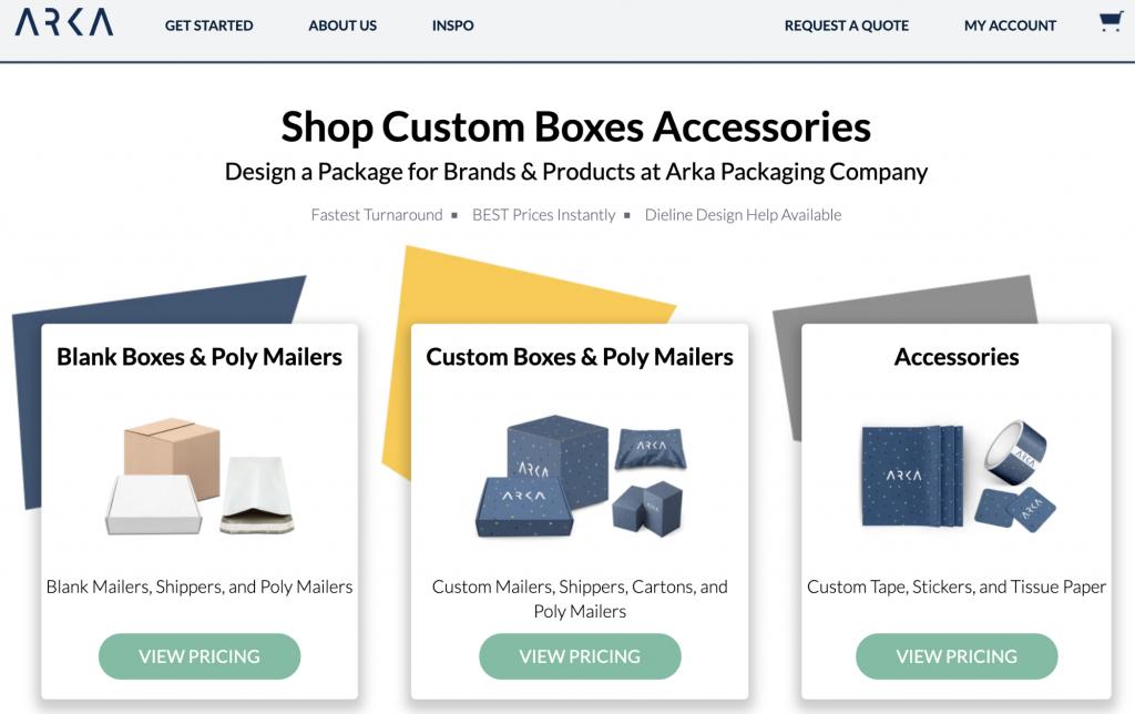 Emballages et fournitures Arka