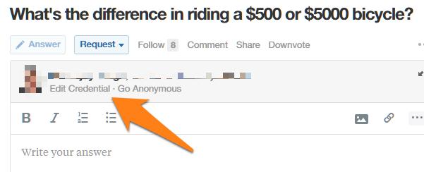 Hacer preguntas sobre Quora