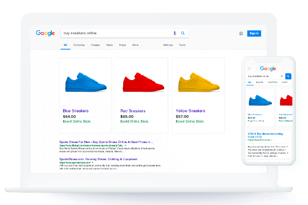 Automated Google Shopping ads