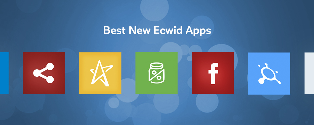 Best new  ecwid apps august 2016