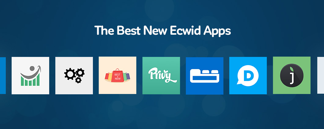 Ecwid Best New Apps April 2016