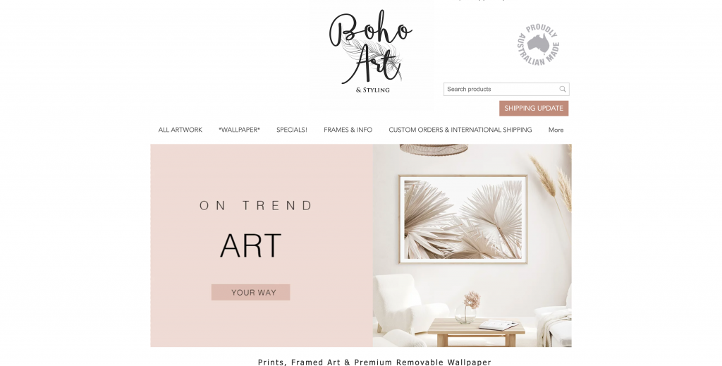 Boho Art & Styling Ecwid Store
