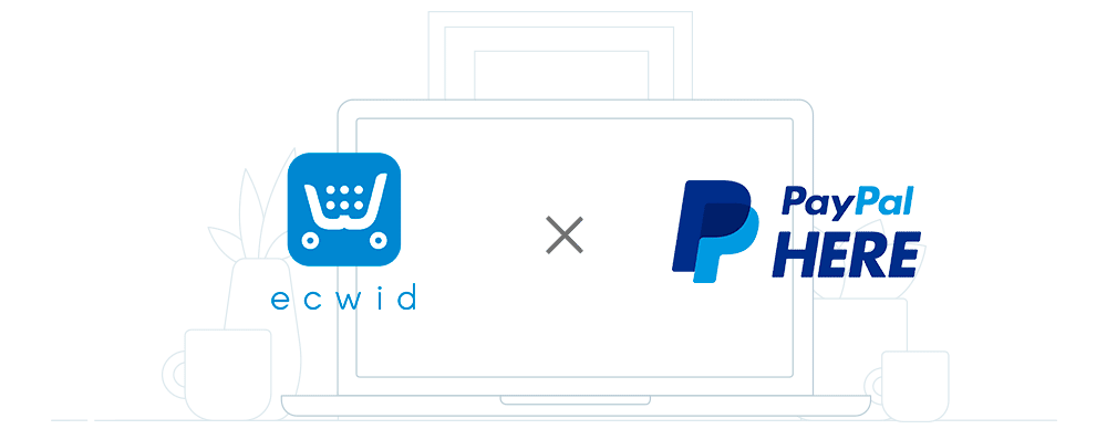 Ecwid and PayPal Here UK