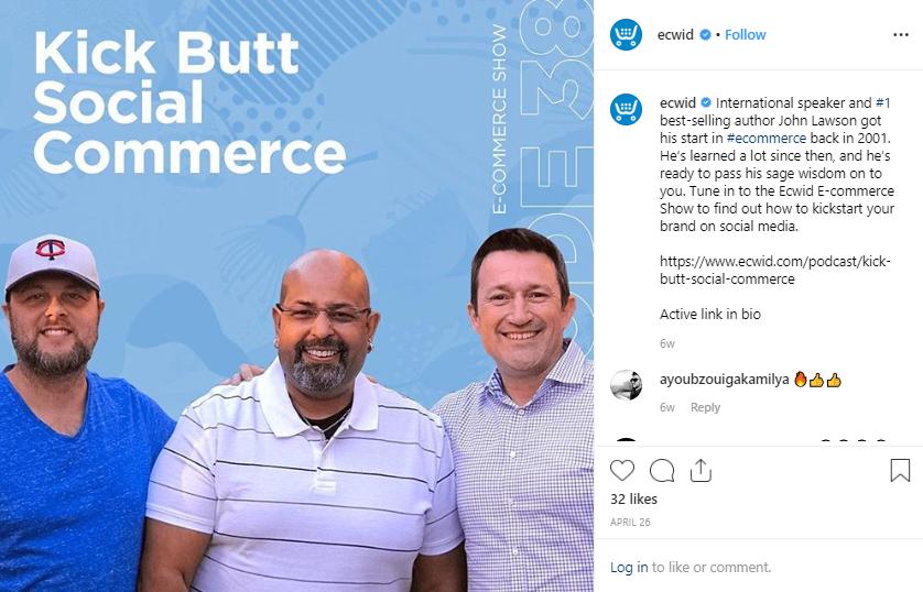 Ecwid E-Commerce anzeigen E-Commerce-Business-Podcast