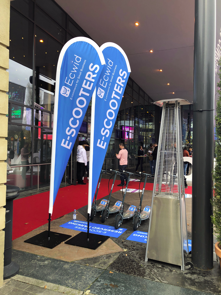 Ecwid at Cloudfest: e-scooters