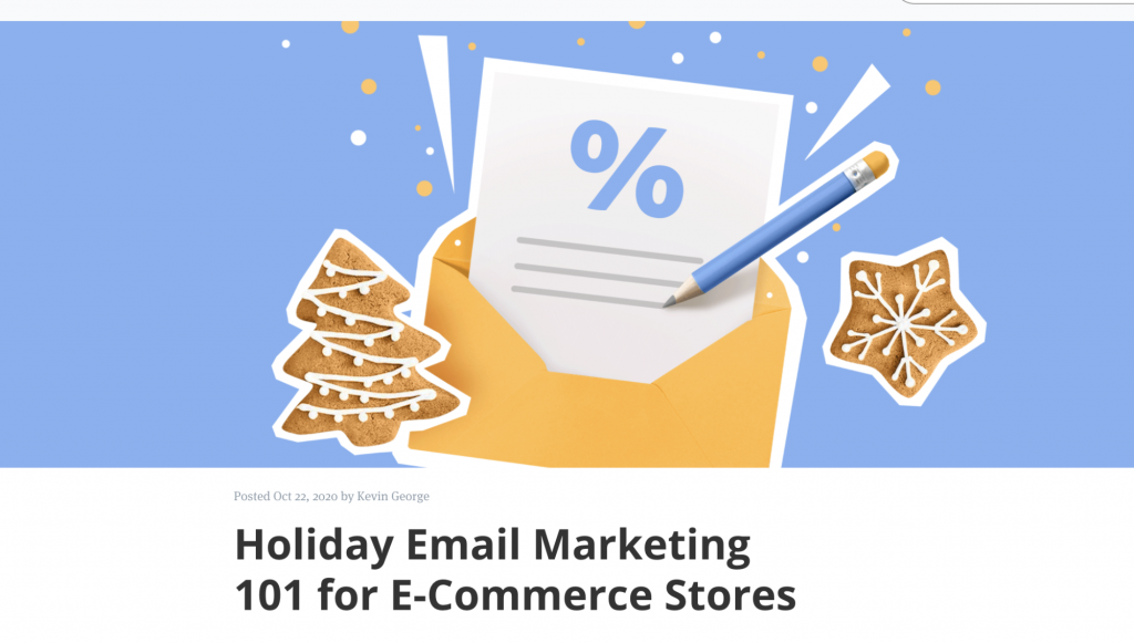 Ecwid email marketing guide cover