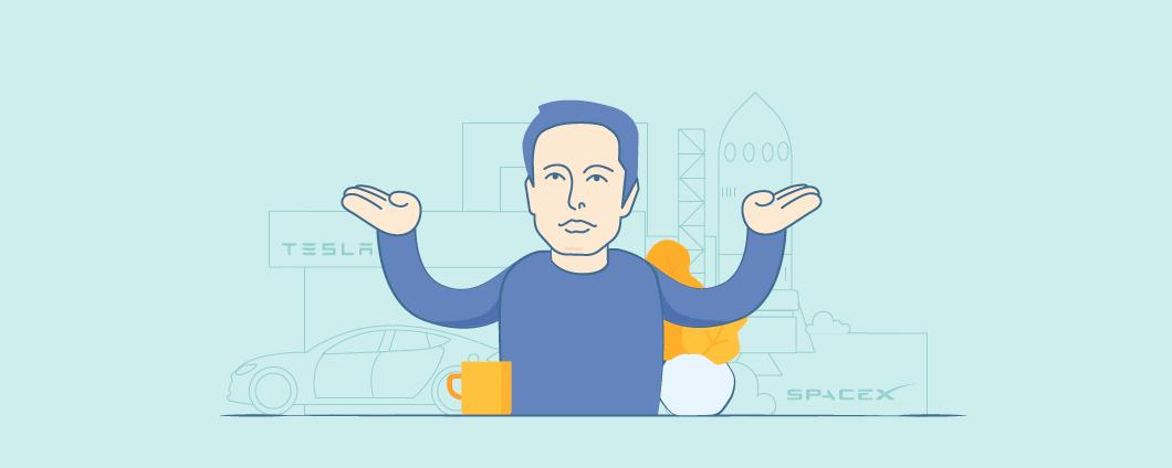Elon Musk di 8 Tempo Principi di Gestione per funzionare come una macchina