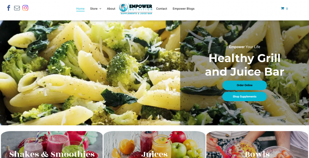 Empower Nutrition Ecwid Store