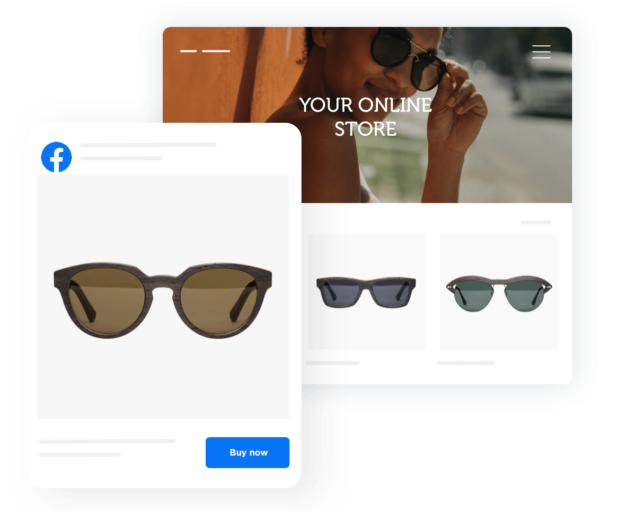 Awesome e-commerce Facebook app