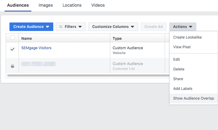 How to check if your audiences are overlapping