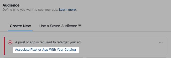 Assumi pixel con il tuo catalogo