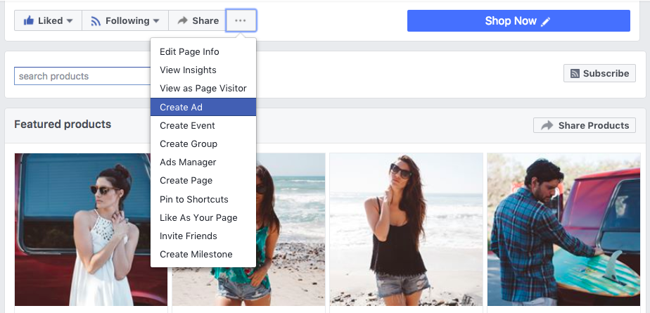 Facebook création publicitaire