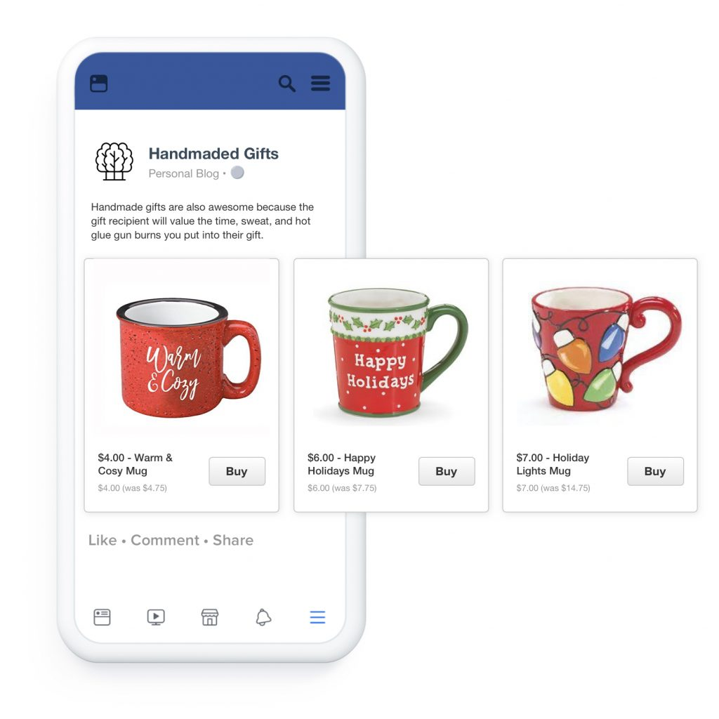 Facebook dynamische product advertenties