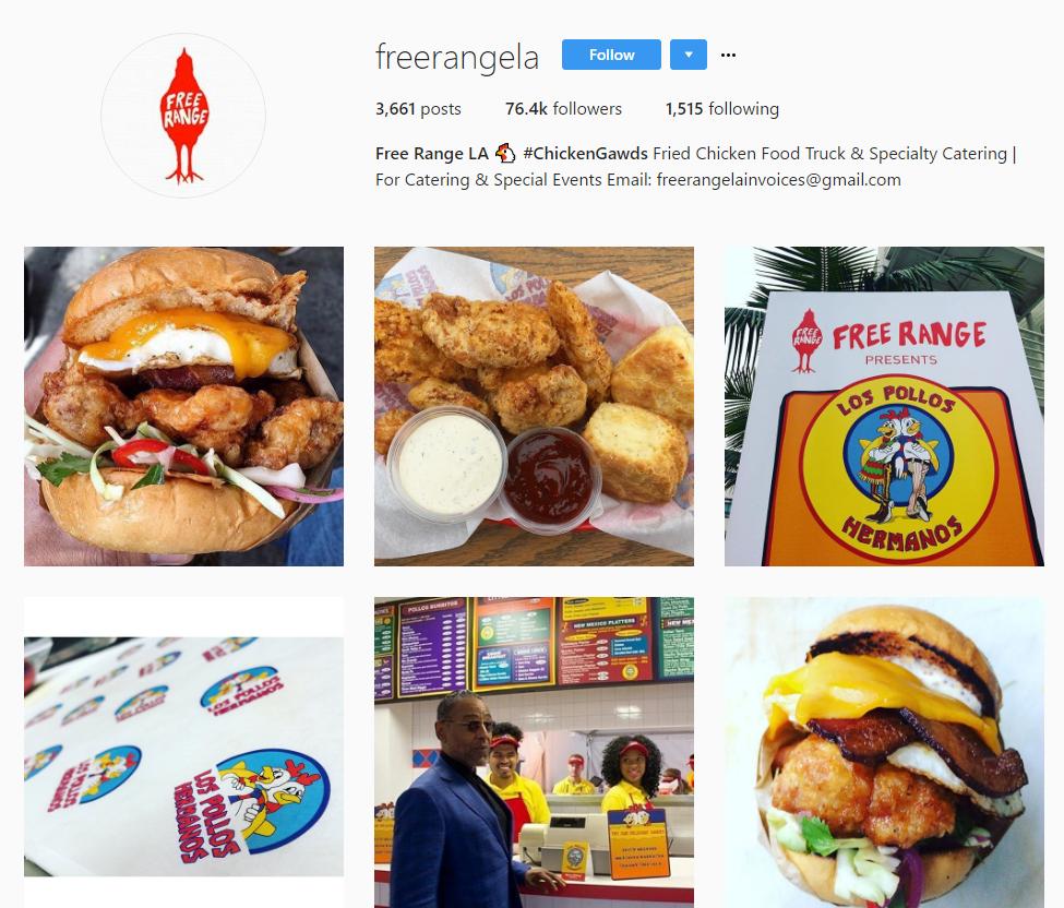 Free Range LA Instagram
