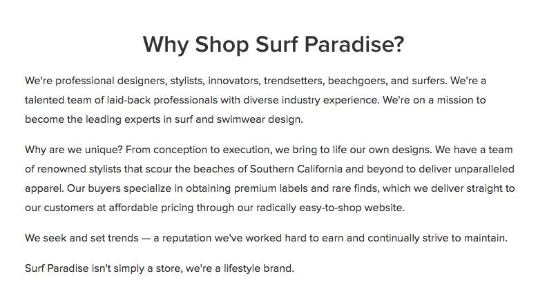 Gratis e-commerce website: waarom voor ons kiezen sectie