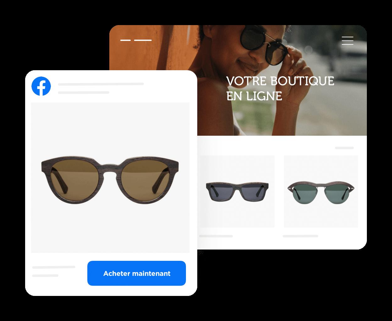 Créez votre boutique Facebook en quelques minutes