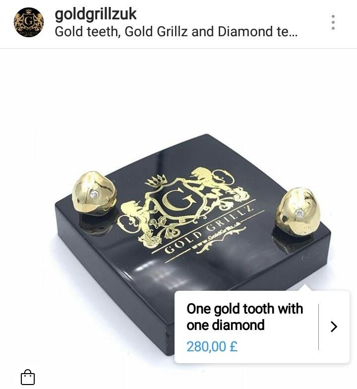 Gold Grillz Instagram