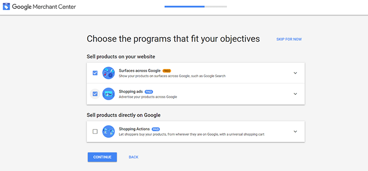Opting-in to the Surface across Google