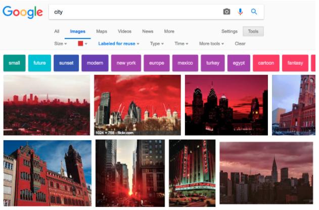 Recherche photo google
