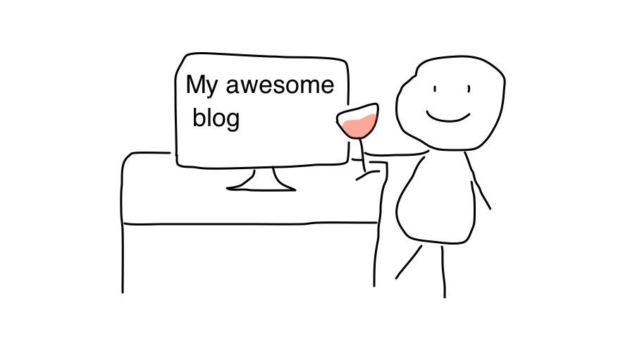 Grand contenu du blog