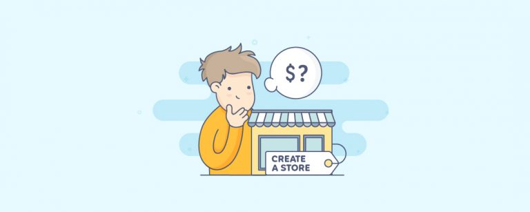 how much is it to create a store