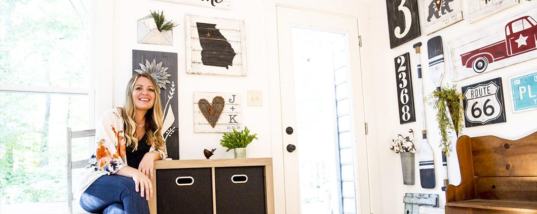 Wie eine Leidenschaftliche Hausdekoration erhielt ihre ganze Familie in ein florierendes Geschäft
