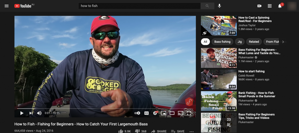How-to-Fish-Fishing-for-Beginners-How-to-Catch-Your-First-Largemouth-Bass-YouTube