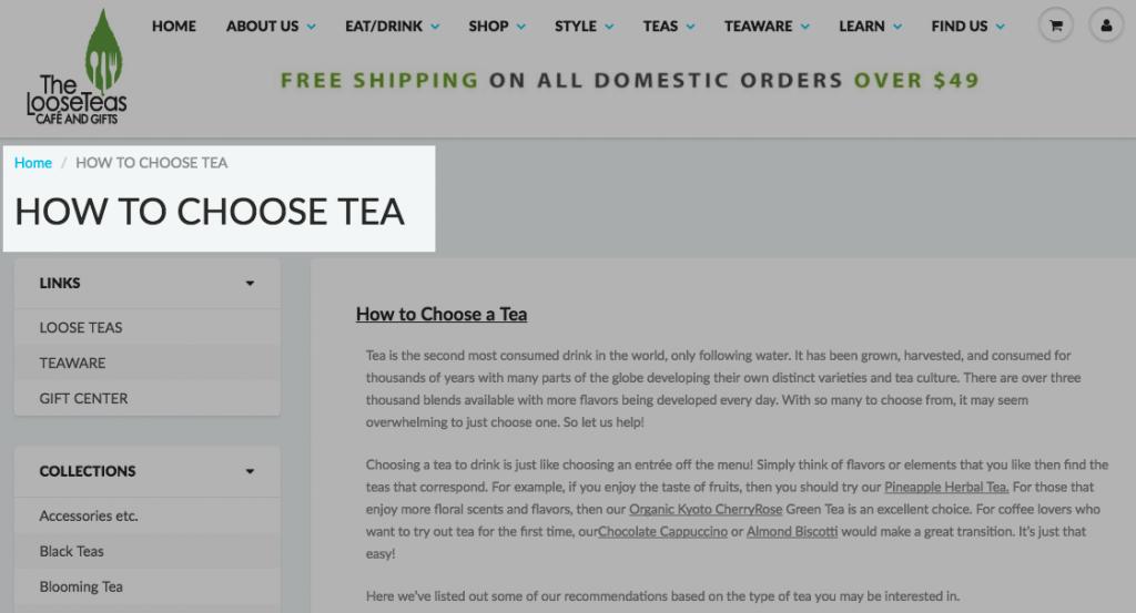 Come scegliere la guida del tè