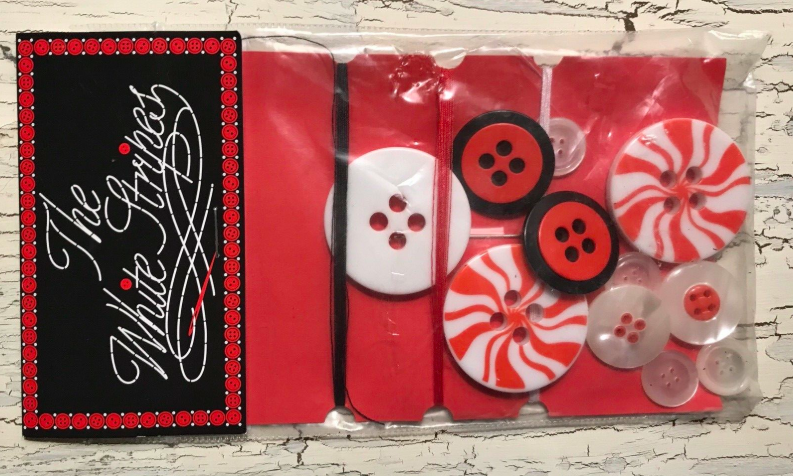 A sewing kit by The White Stripes