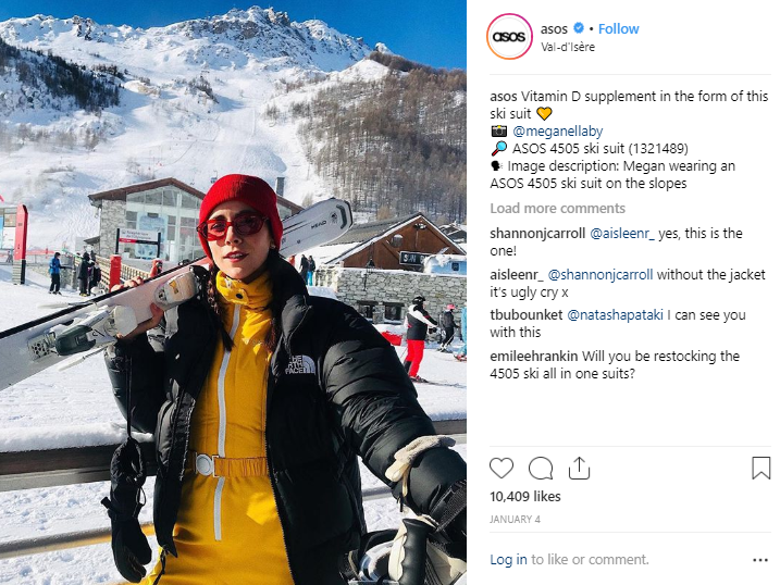 Buone le didascalie Instagram