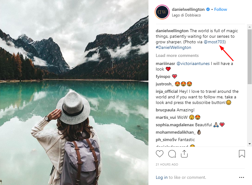Instagram personalized posts